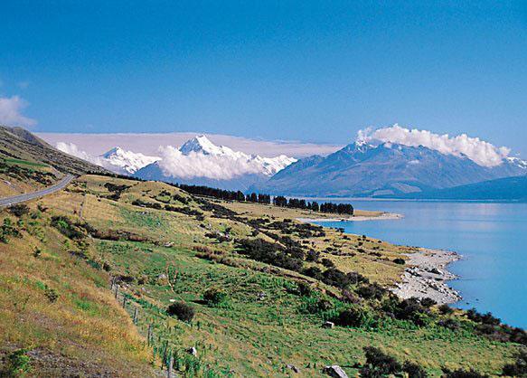 Strzelanina W Nowej Zelandii Film Image: Nowa Zelandia. Warunki Naturalne