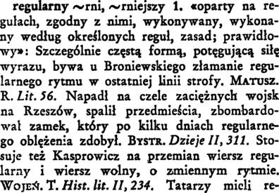 Regularny Wielki Słownik W Doroszewskiego Pwn