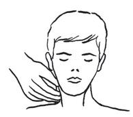 c – stwierdzenie obecności tętna na tętnicy szyjnej