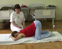 Pozycja kolankowo-łokciowa
